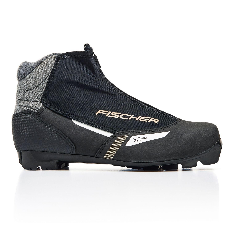 Topánky na bežky FISCHER XC Pro WS - NNN Čierna 39