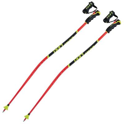 Lyžiarske palice LEKI WCR Lite GS 3D Junior Red