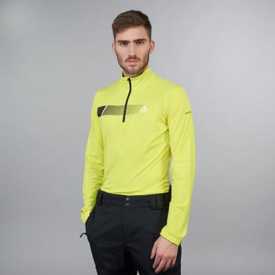 Funkčné tričko FISCHER Kaprun Shirt Yellow