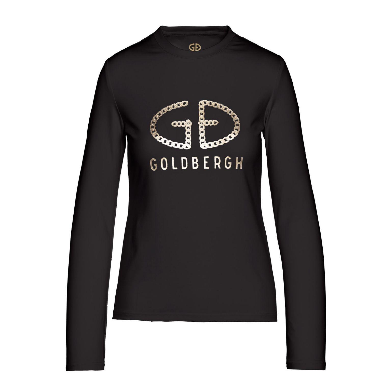 Tričko GOLDBERGH Chain Black Čierna M