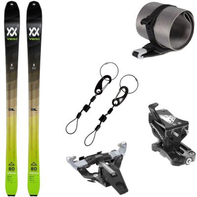 Skialpinistický set Volkl Rise 80 s pásmi a viazaním Dynafit Speed Turn