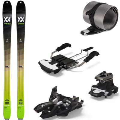 Skialpinistický set Volkl Rise 80 s pásmi a viazaním Marker Alpinist 10