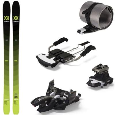 Skialpinistický set Volkl Rise 80 s pásmi a viazaním Marker Alpinist 8