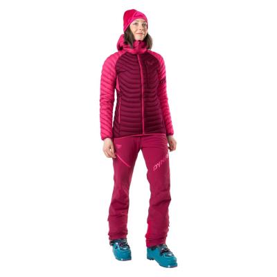 Bunda DYNAFIT Radical Down RDS Hooded Jacket W Flamingo