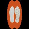 5x vyhrievacie vankúšiky THERM-IC Foot Warmers - výdrž až 8 hodín