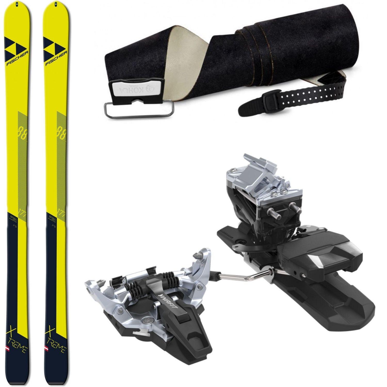 Skialpinistický set FISCHER X-Treme 88 + pásy + viazanie Dynafit Radical