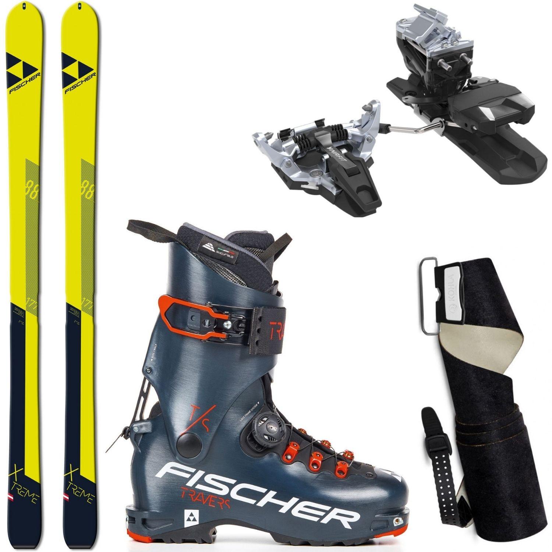 Skialpinistický set FISCHER X-Treme 88 + pásy + viazanie + lyžiarky Travers