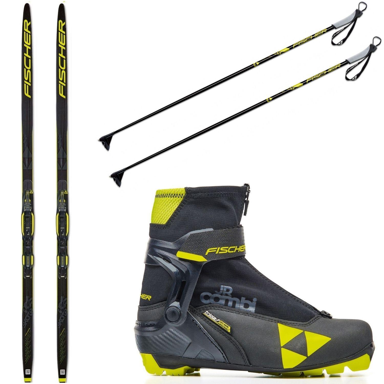 Bežecký set FISCHER RCS Skate Jr + topánky Combi + palice