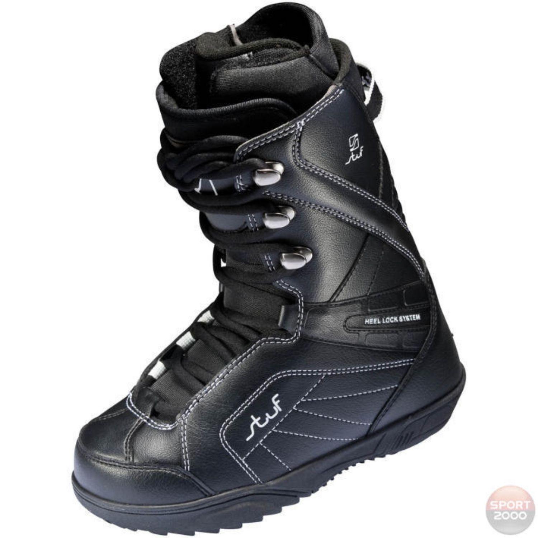 Snowboardová obuv STUF Pure Jr Čierna 24.0