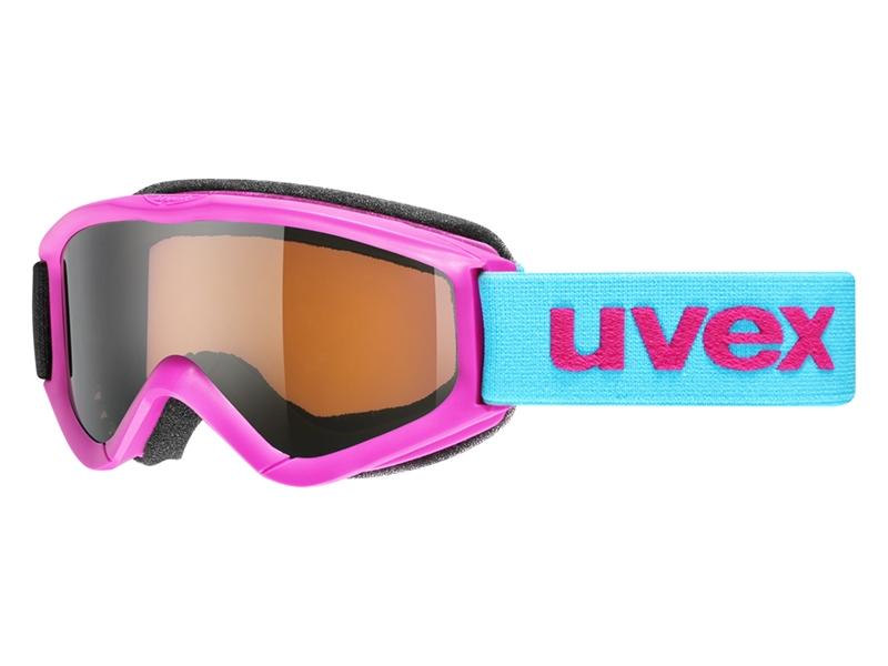 Detské lyžiarske okuliare UVEX Speedy PRO Ružová