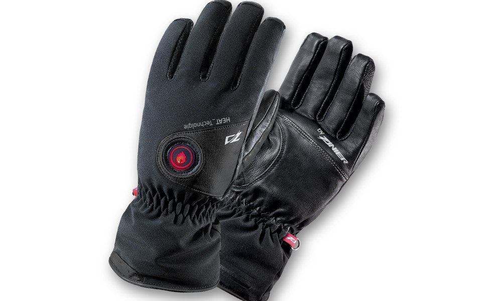 Rukavice ZANIER Street Heat - Pánske vyhrievané rukavice Čierna XL