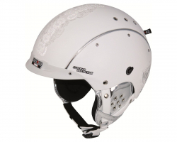 Prilba CASCO SP-3 Limited Crystal weiss