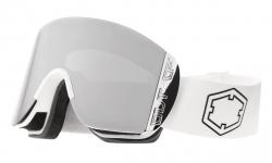 Lyžiarske okuliare OUT OF Doc White Silver