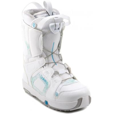 Dámske snowboardové topánky SALOMON Pearl White