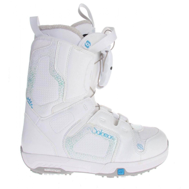 Snowboardová obuv SALOMON Pearl White Biela 27.0